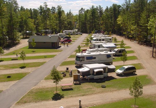 Danforth Bay Camping Amp Rv Resort Has 24 Pull Through Sites
