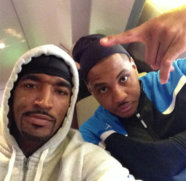 carmelo anthony and jr smith the fate of the Knicks rest