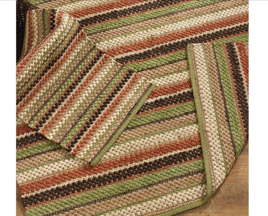 Serrano Rag Rug 6 X 9 Country Primitive By Park