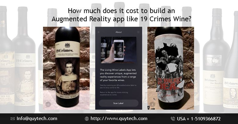 Cost to Develop an Augmented Reality Wine Label App like