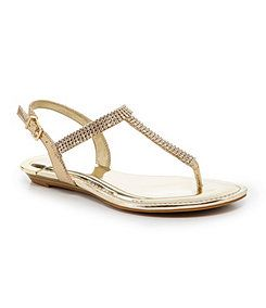 39c12ab670d3 Gianni Bini Emmie Jeweled Flat Sandals - Dillard s