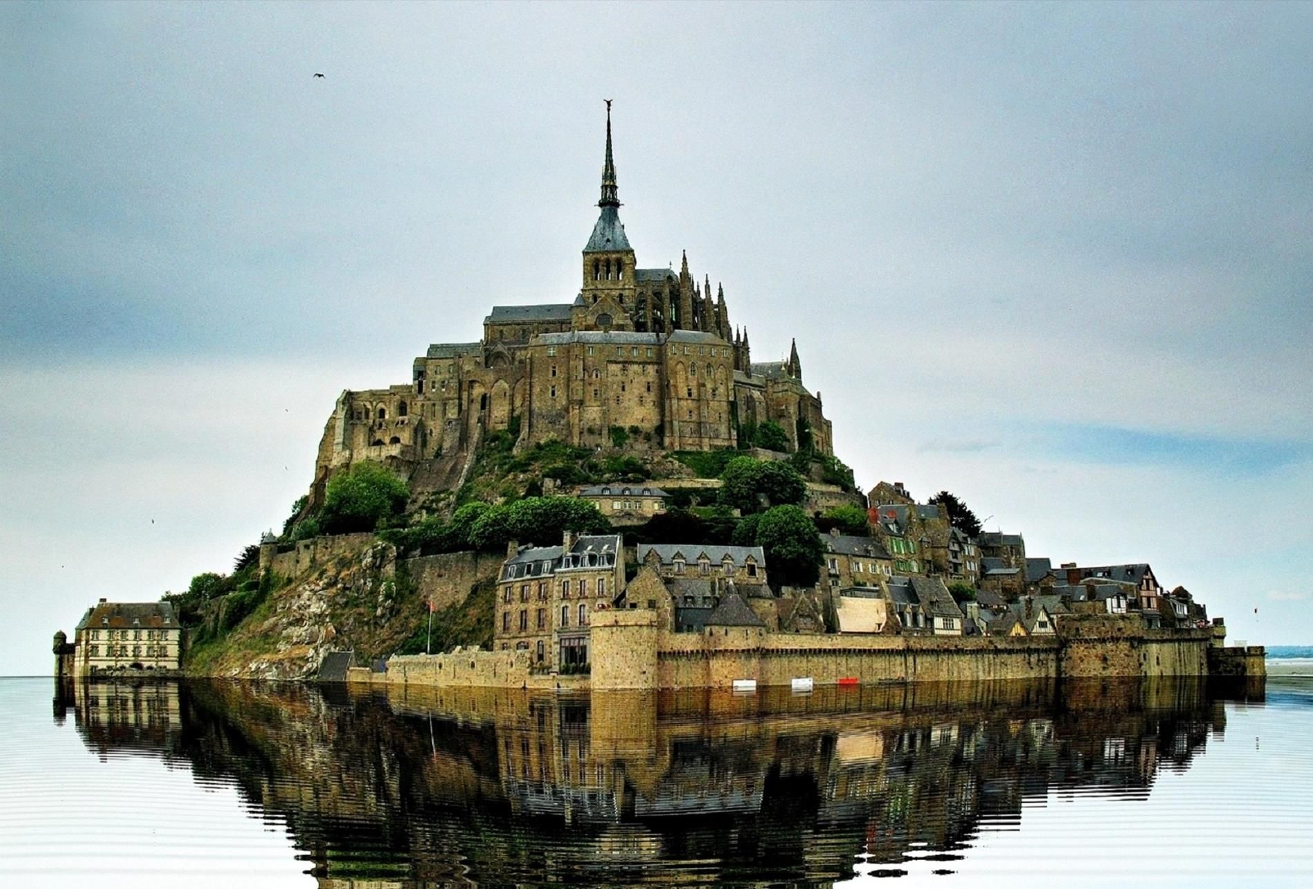 Mont Saint Michel Unique Island There Are Only 44