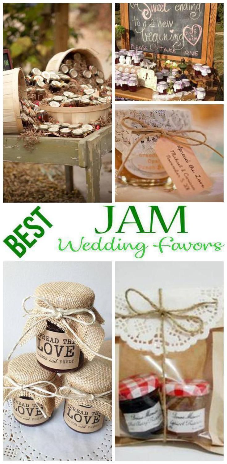 Wedding favors jam wedding favor ideas that your guests will love wedding favors jam wedding favor ideas that your guests will love find ideas from diy cheap creative unique inexpensive elegant classy use junglespirit Choice Image