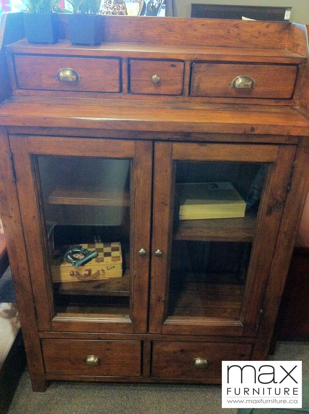 irish coast credenza reclaimed rustic wood max furniture victoria