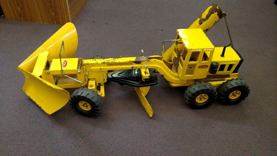Custom Tonka Grader Plow Trucks Juguetes Carritos Miniaturas