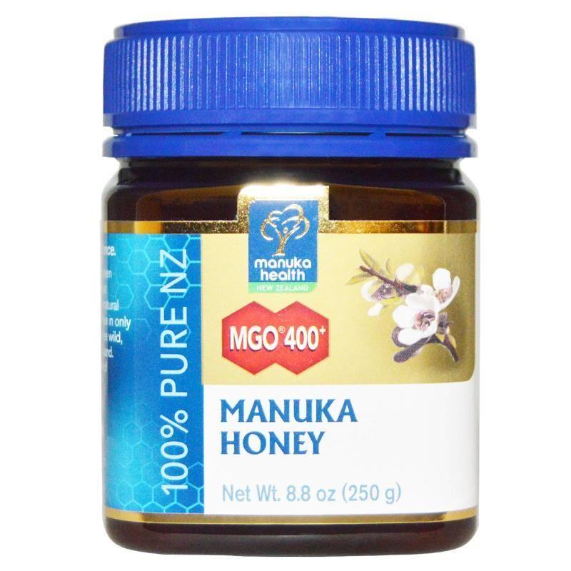 Manuka Health Manuka Honey Mgo 400 8 8 Oz 250 G Manuka Honey Manuka Honey Benefits Nutrition Chart