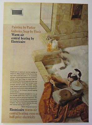 Vintage 1960s Advert Electricaire Central Heating Ebay Central Heating Vintage Central