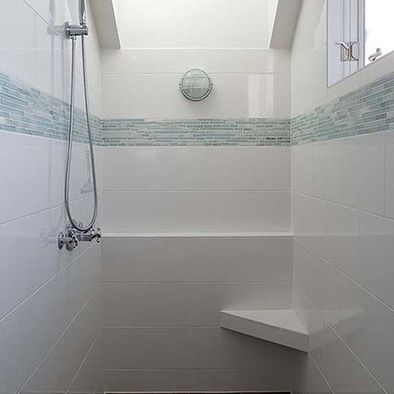 Bathroom Subway Tile Design Bathroom White Subway Tile Glass Mosaic Design Pictures Remodel