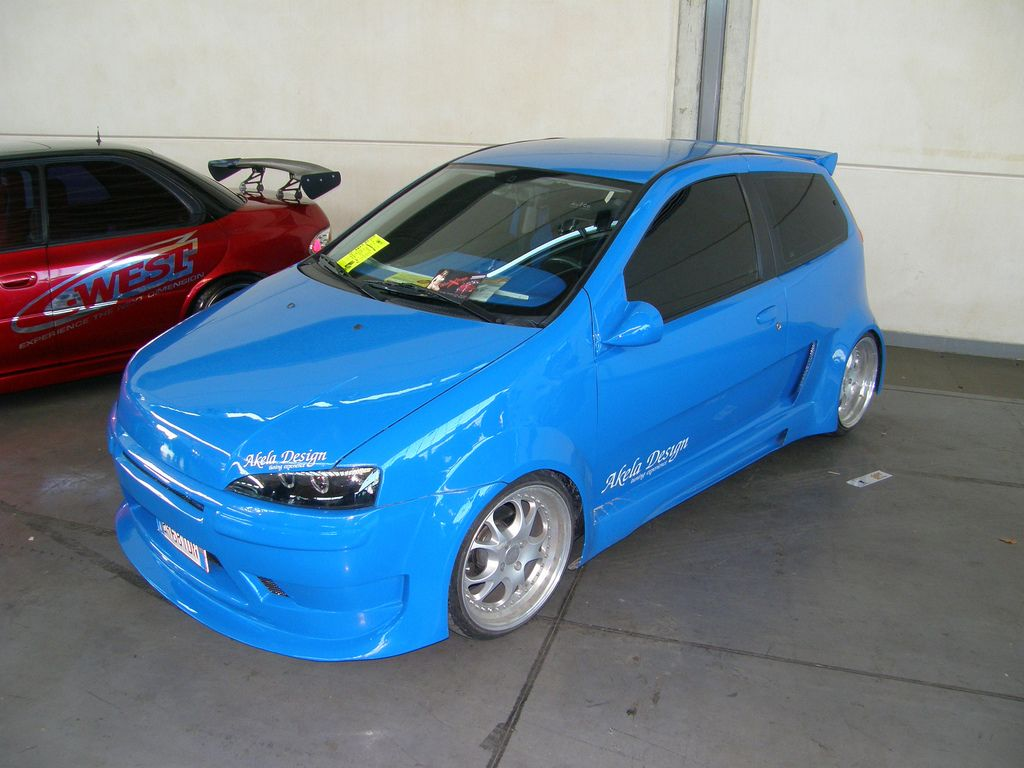 fiat punto tuning tuning pinterest fiat and cars. Black Bedroom Furniture Sets. Home Design Ideas