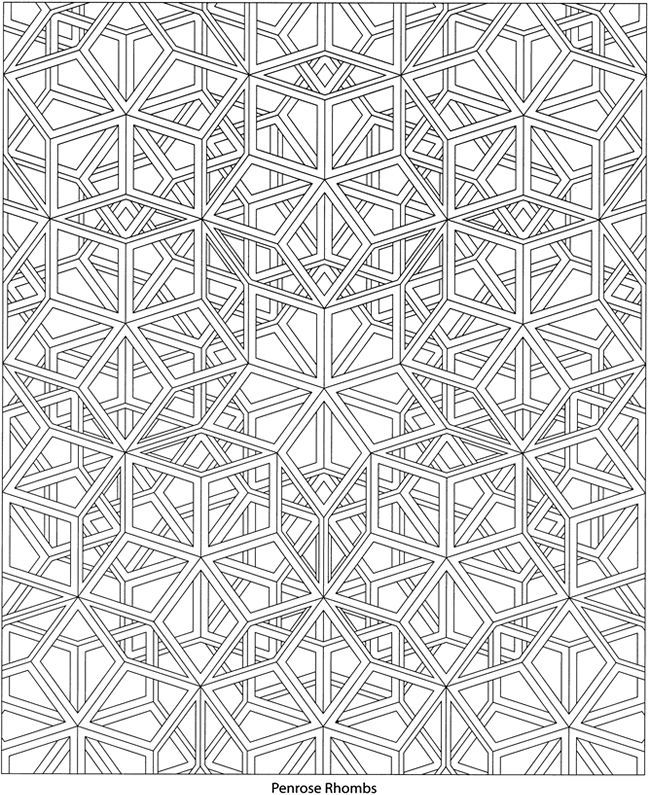 dover coloring book geoscapes - Google Search | Arab patterns ...