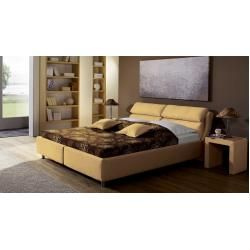 Photo of Reduced upholstered beds at a comfortable height