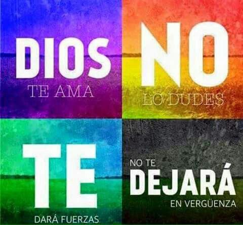 Dios no te dejara