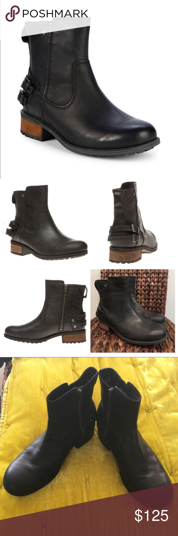 d2b7dd60f4e UGG Shoes | Badass Ugg Orion Boot 11 Moto Combat Ankle Uggs | Color ...
