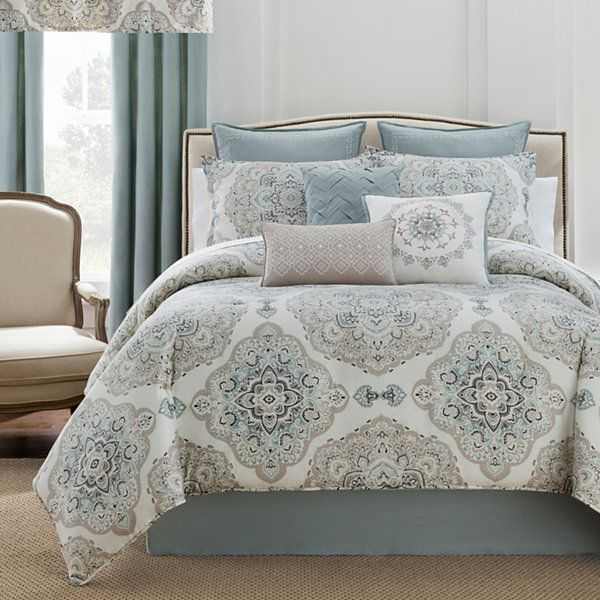 Eva Longoria Home Briella 4 Pc Comforter Set Accessories