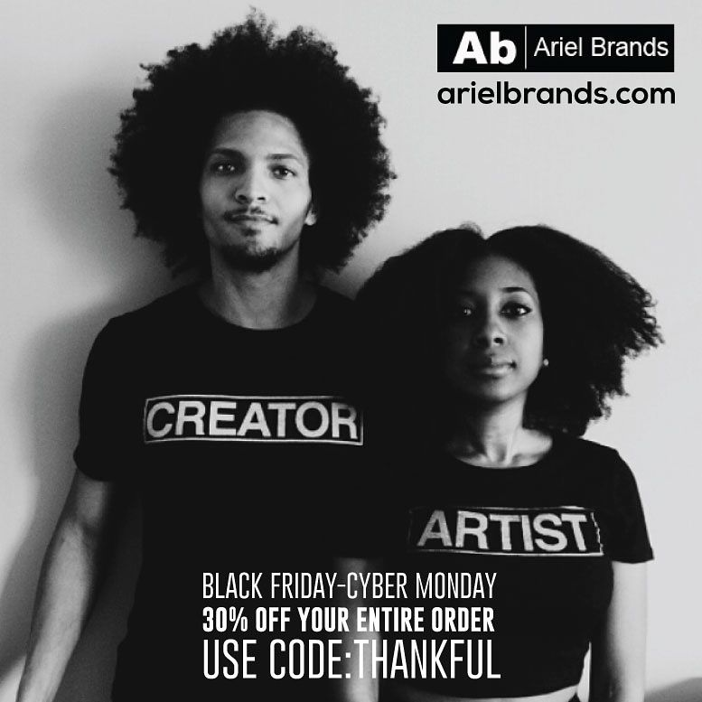 30% off everything on arielbrands.com 💞