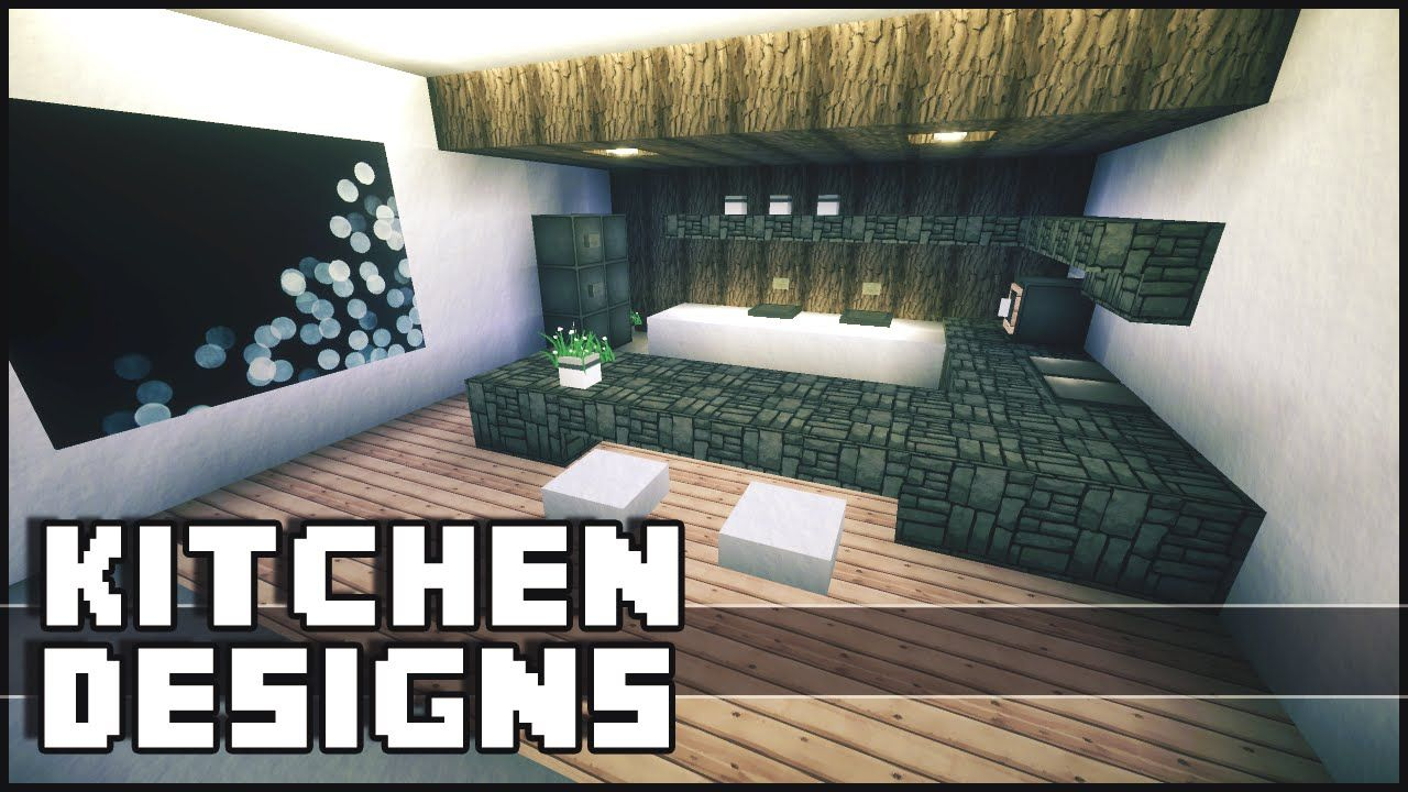 Minecraft - Kitchen Designs & Ideas | Minecraft kitchen ...