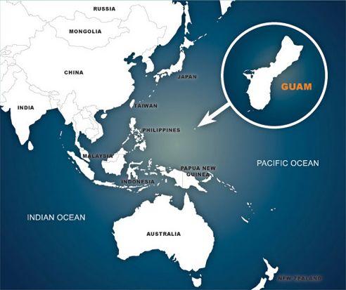 Living On Guam Guam PCS Guam TLA Guam Relocation Service - Guam world map