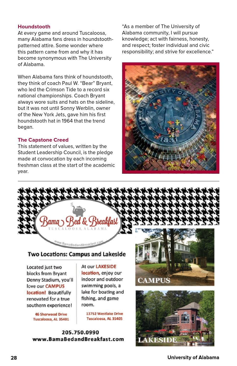 This Family Weekend guide to the University of Alabama is created especially for parents and families to help them navigate their student's college experience. It answers key questions parents have about the university and includes links to further information. Parenting a college student comes with its own challenges and joys, and having the right information can help parents provide the best support possible. The guide is made through a partnership between UniversityParent…