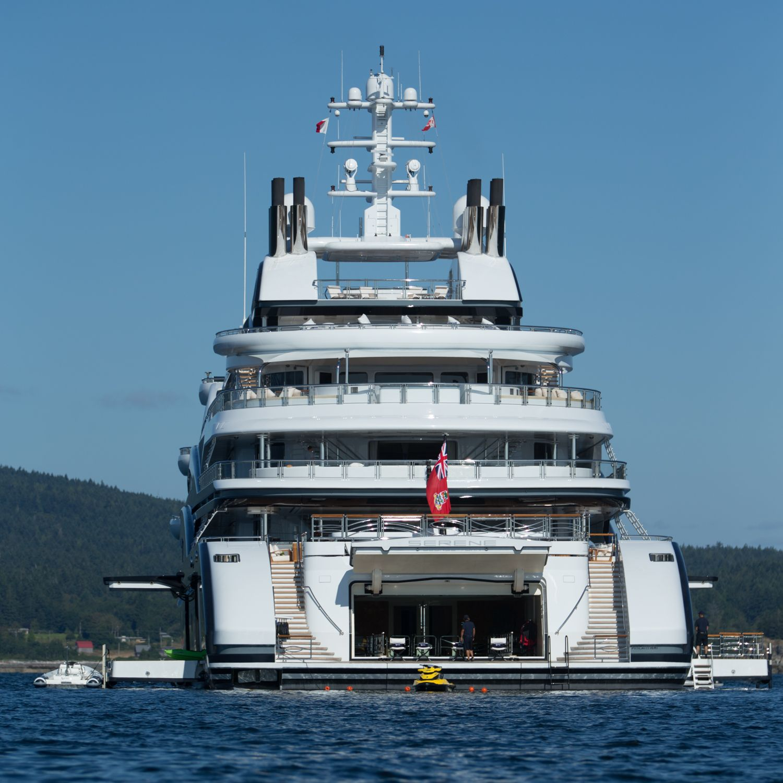 Yacht Island Design | ... yacht SERENE - Photo by Viktor Davare - Vancouver