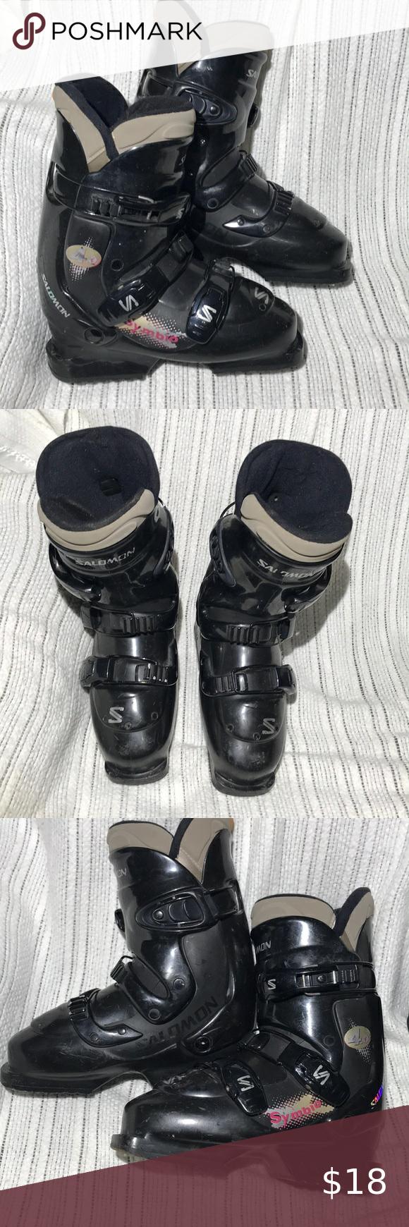 Salomon Symbio Ski Boots Salomon Symbio Flex 30 Size Mondo 24 5 Be Sure You Know Mondo Sizing Size Chart Online Says It Will Fit In 2020 Salomon Shoes Boots Ski Boots