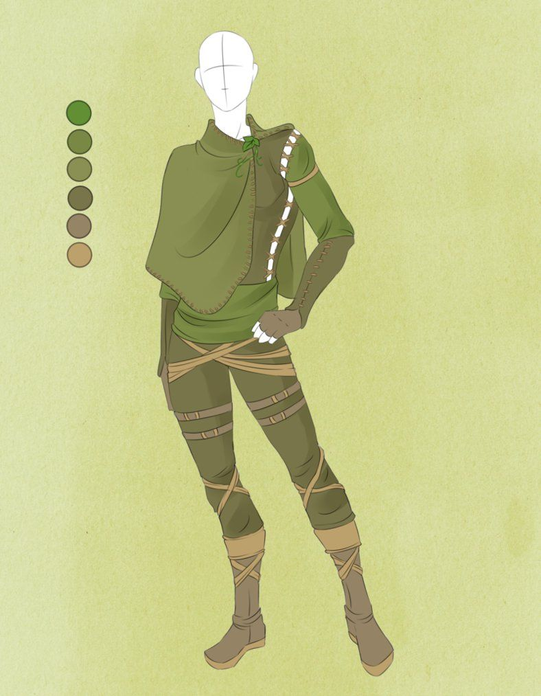 Character Costume Design Tips : Commission outfit july by violetky medieval