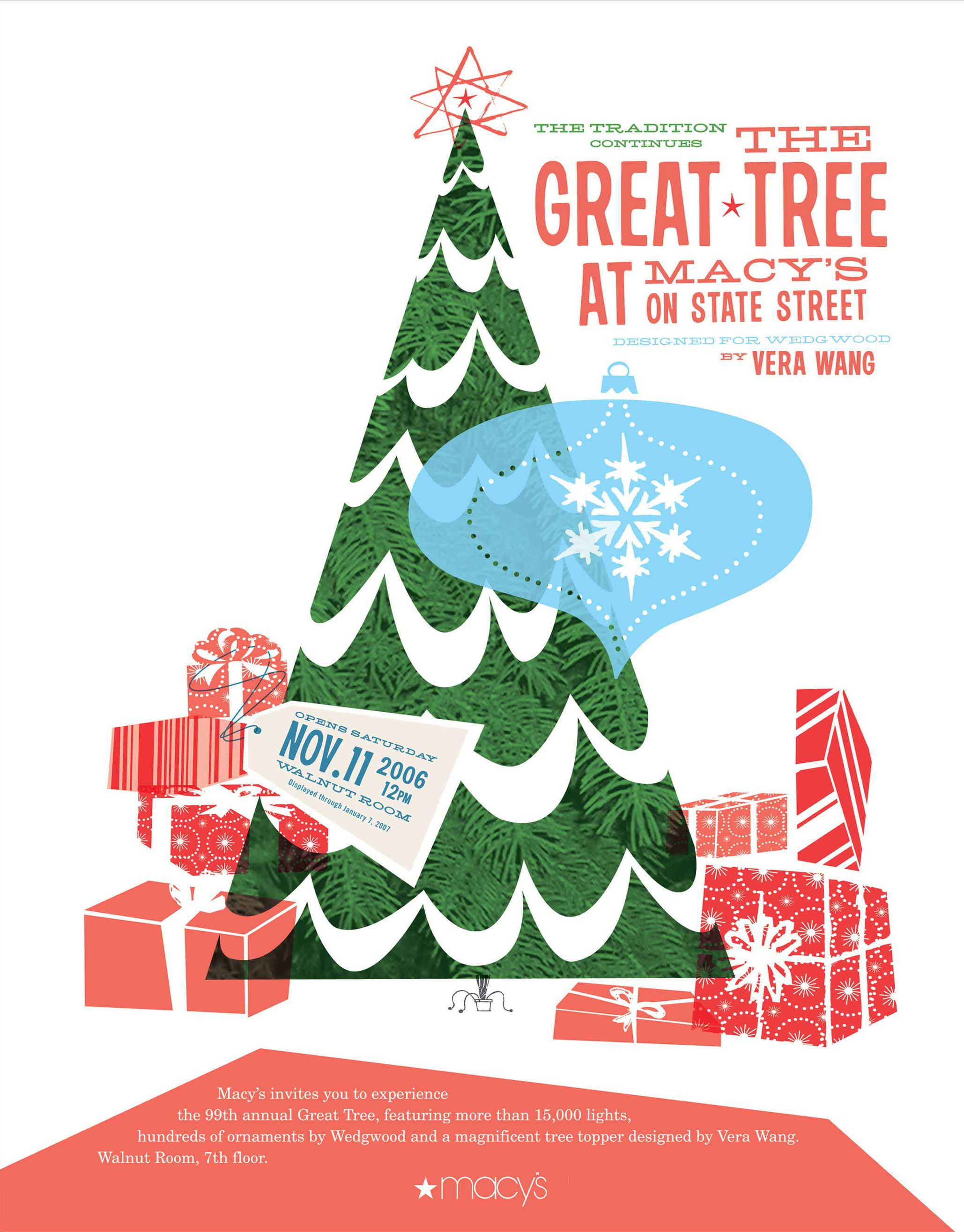 macy s great tree poster holiday the old graphics macy s 2006 1500 paper dolls christmas gifts artist arielle gabriels the international paper doll society also paper dolls the adventures