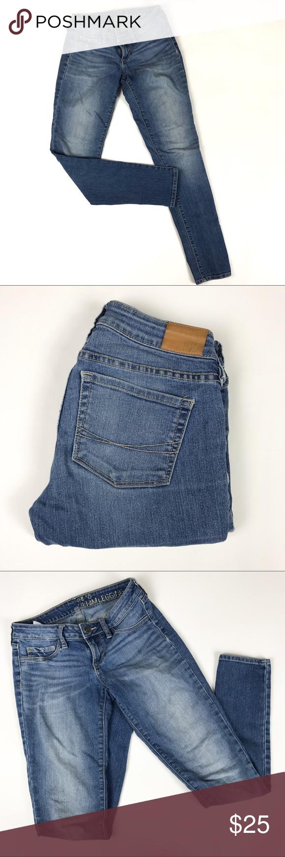 bbaeafc2cbcc8 Bullhead The 55 Denim Legging Dark Blue Jeans Bullhead The 55 Denim Legging  Jeans from PacSun • Size 1 • 82% Cotton / 16% Polyester / 2% Spandex •  Inseam ...