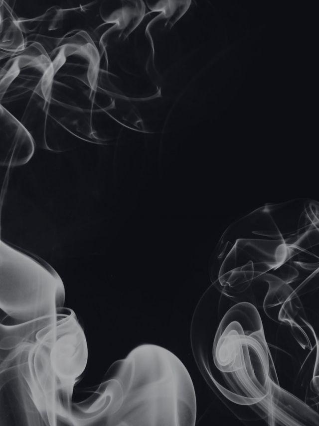 Simple White Smoke H5 Background Background Black And White Background White Background Images