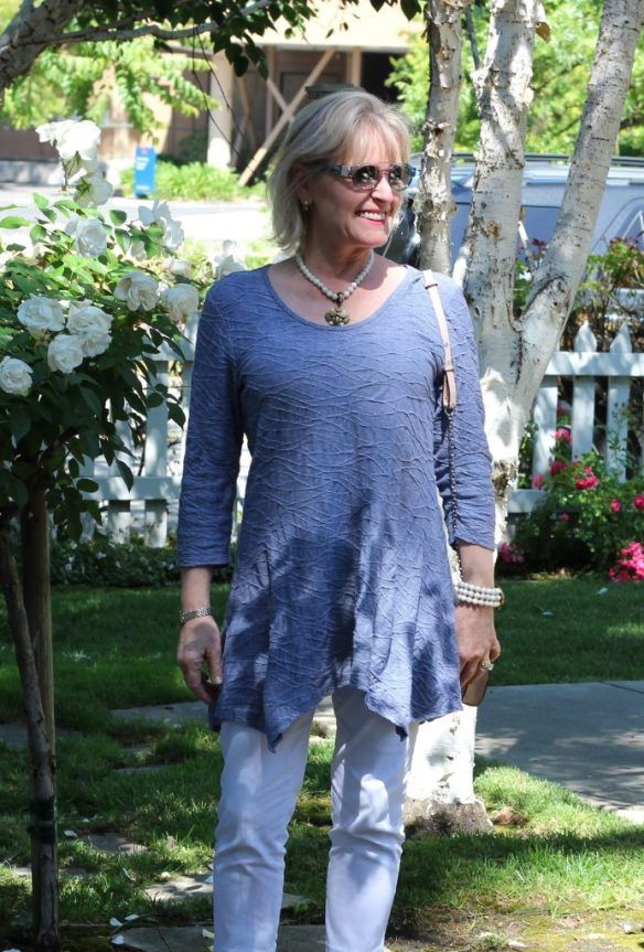 c496749adbc Tunic Style and Covering My Undergarments | STYLISH OVER 50 & 60 ...