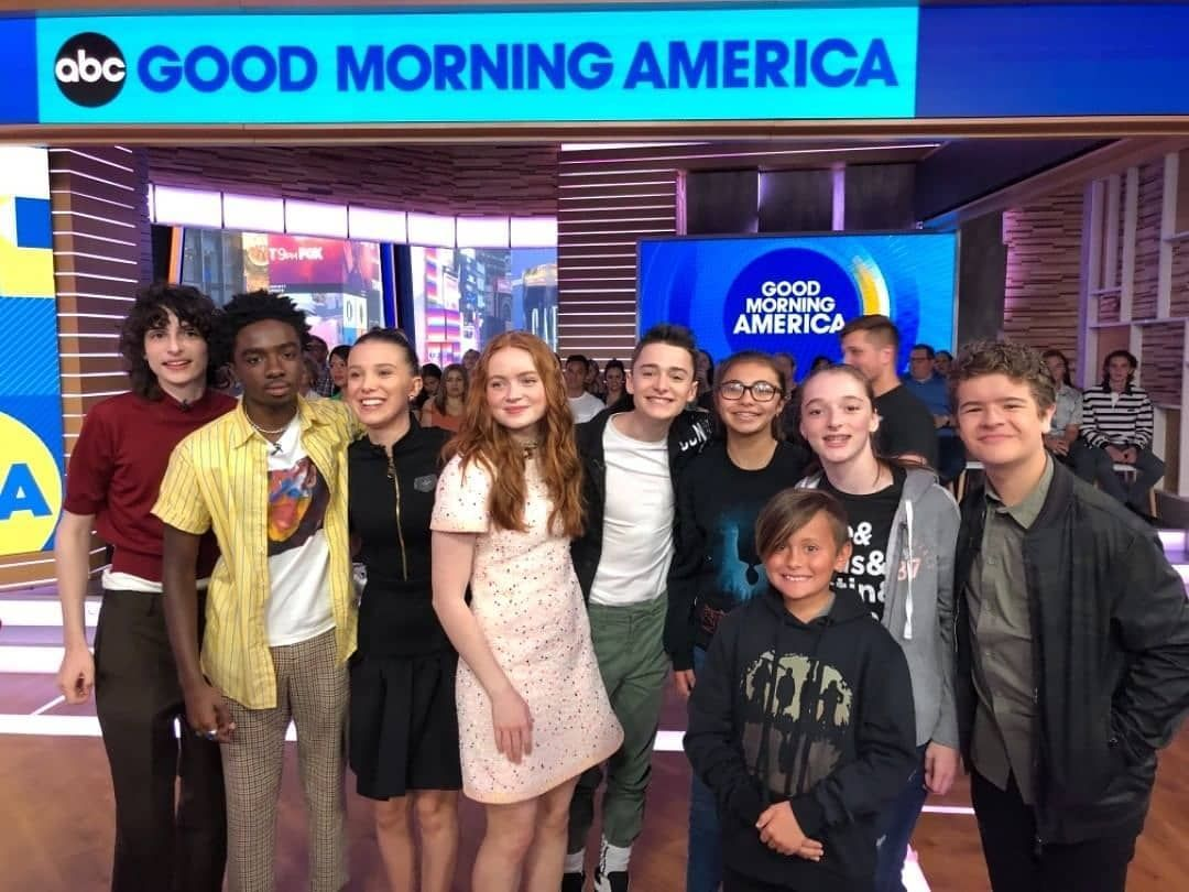 Pin By Jennifer Ashcraft On Stranger Things Cast Good Morning