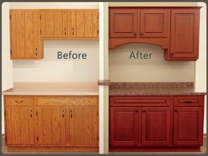 Give Your Kitchen A Faceliftreplacing Cabinet Doors With Extraordinary Kitchen Cabinet Refinishing Inspiration