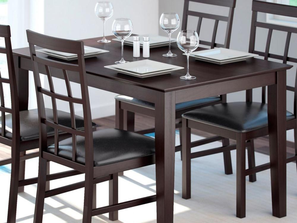 Kitchen And Dining Room Tables Sets Amazon Furniture Piece Dinette Set With Small Table Chairs