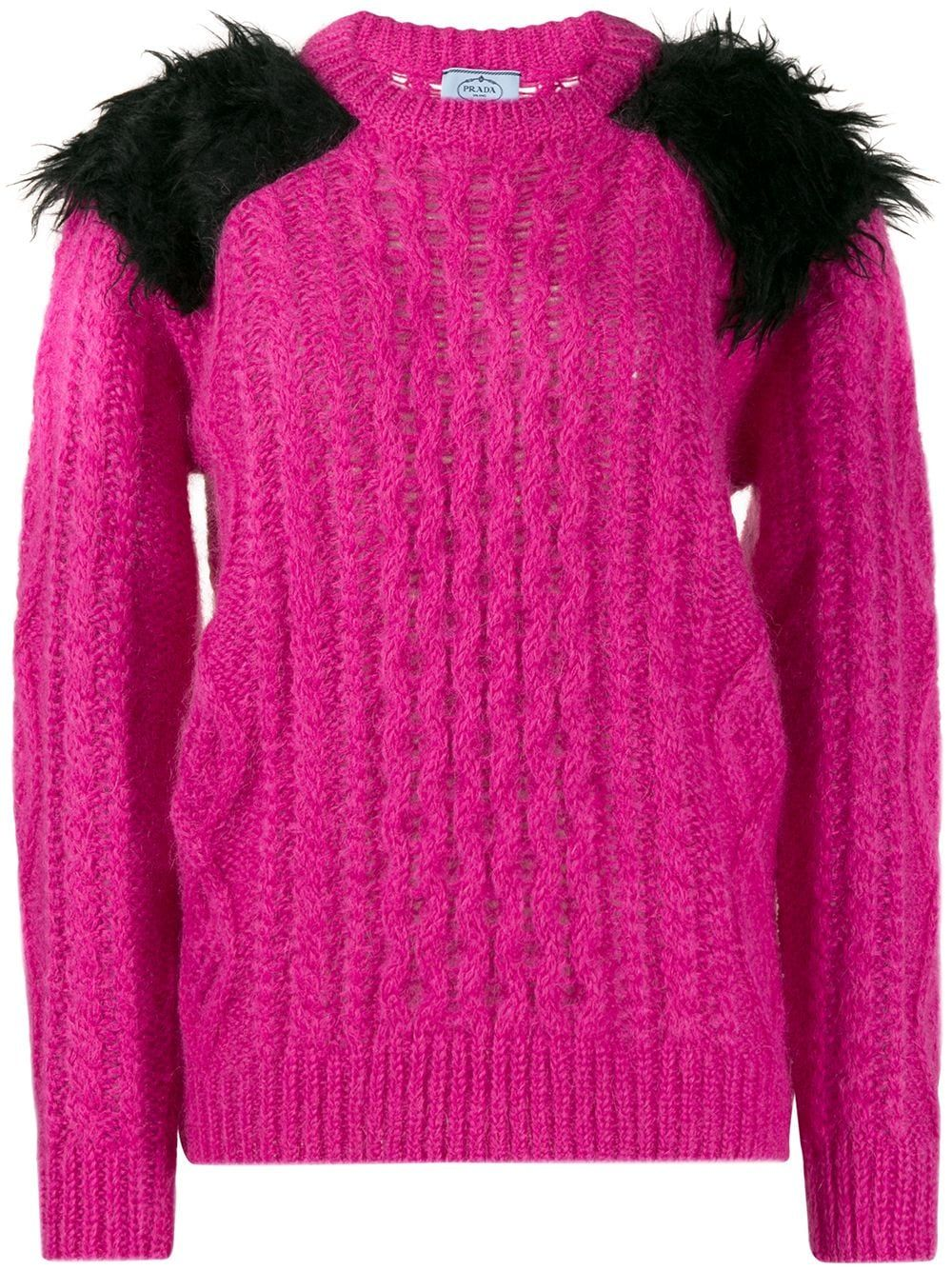 Prada Chunky Knit Jumper - Farfetch
