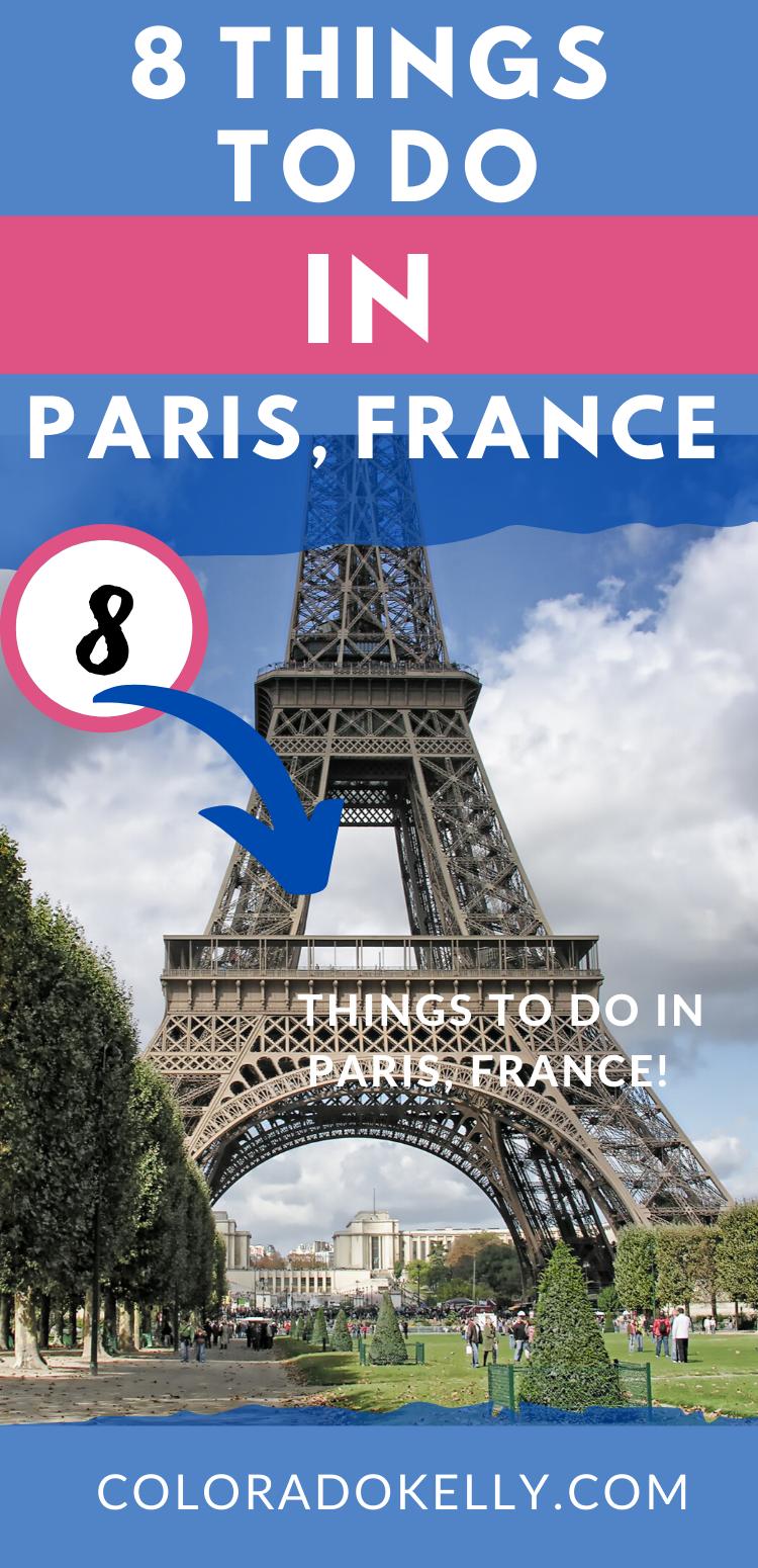 8 Things to do in Paris!  #travelreview #paris #parisfrance