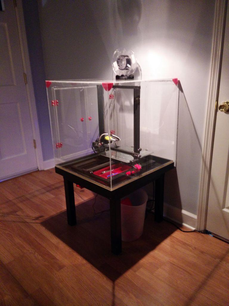 Clear enclosure for creality cr10 3d printer 3d printer
