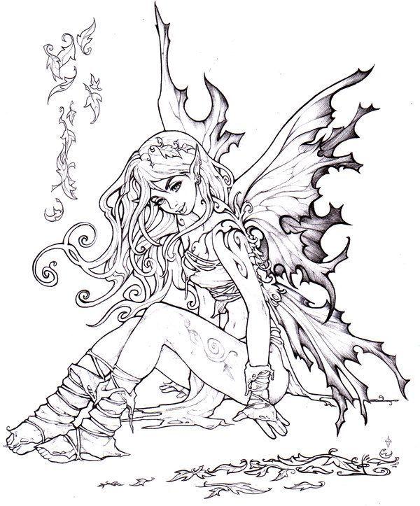 Autumn fairy by ~Pallat on deviantART   clase   Pinterest   Colorear ...