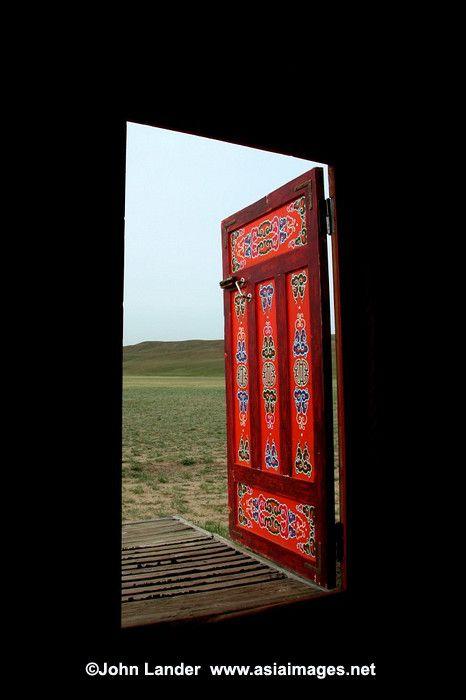 Ger Door, Mongolia
