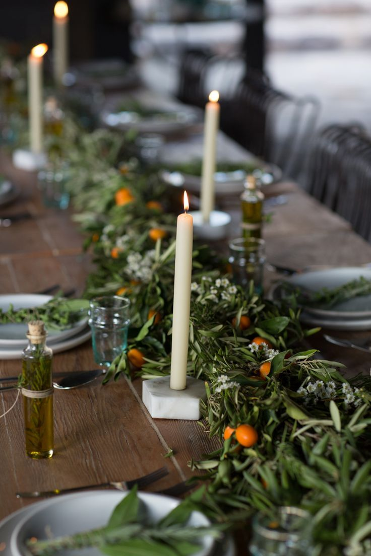 Dinner party details an inspired summer evening in ojai summer