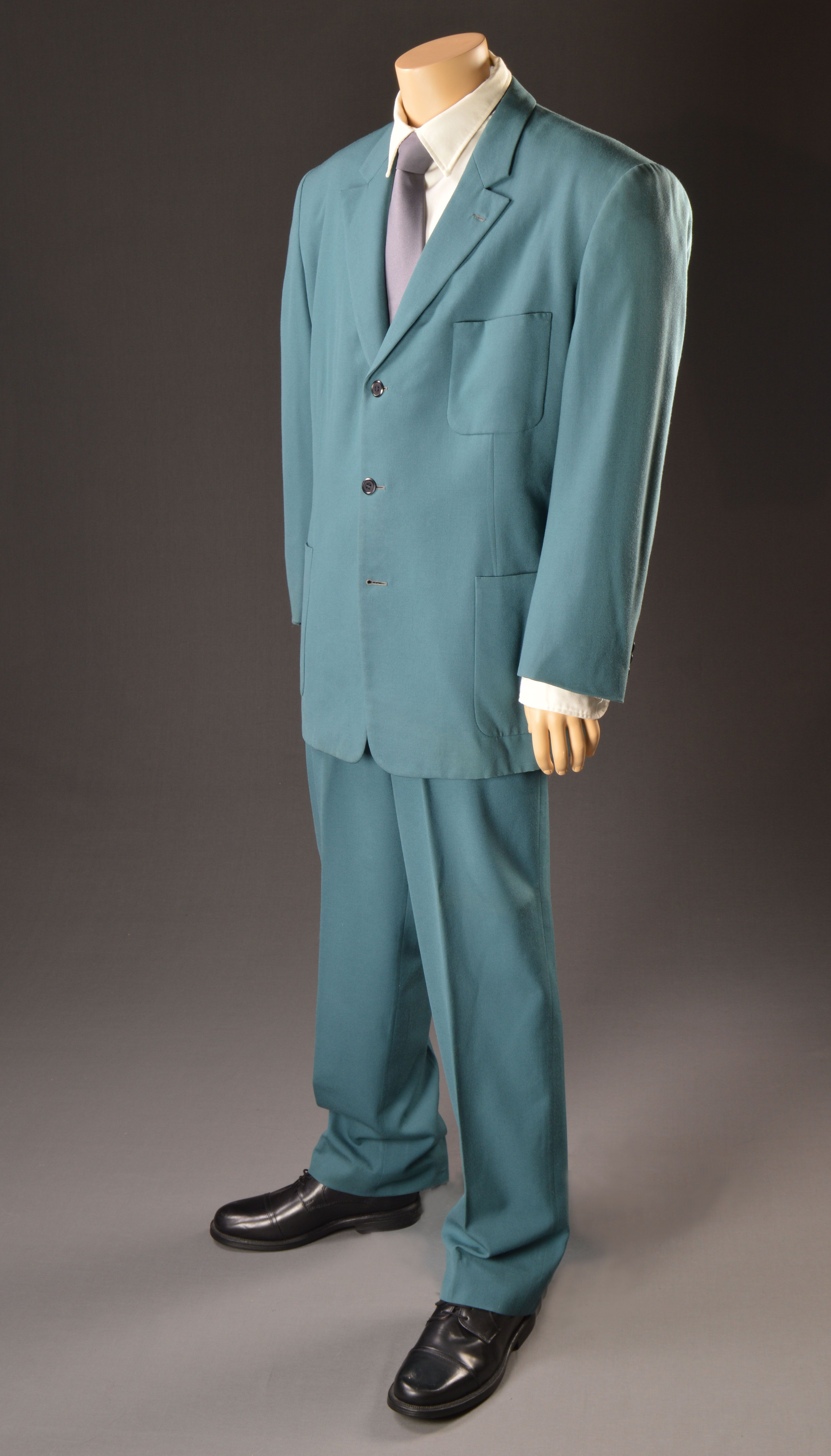 """Arnold Schwarzenegger, """"Red Heat,"""" Columbia, 1988, Designed by Dan Moore, The Collection of Motion Picture Costume Design: Larry McQueen"""