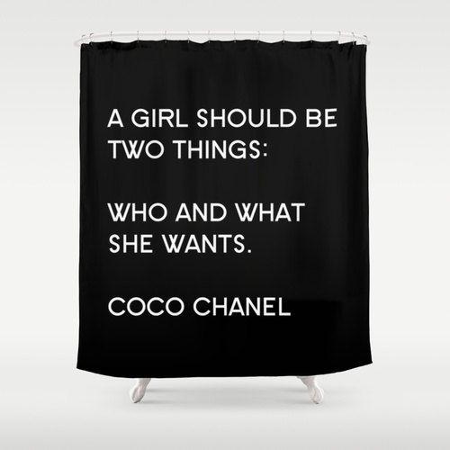 Inspirational Shower Curtain Girls Bathroom Decor Designer