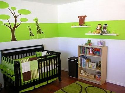 ideas modernas para decorar la habitacin del bebe decoracion
