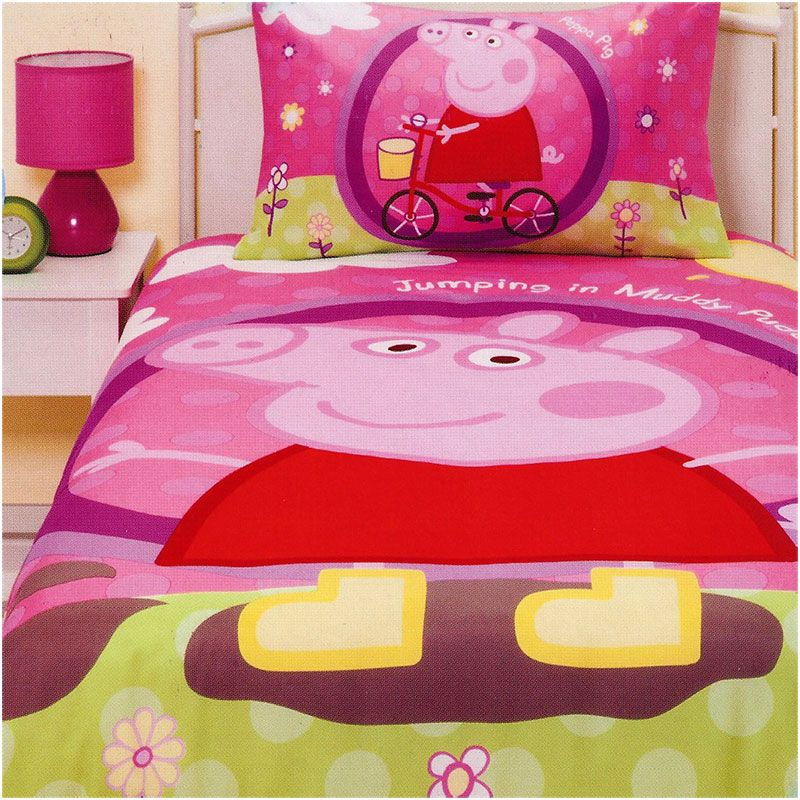 Peppa Pig Bedding Sets Now Available Http Www Kidsbeddingdreams Cid 72 Peppapig