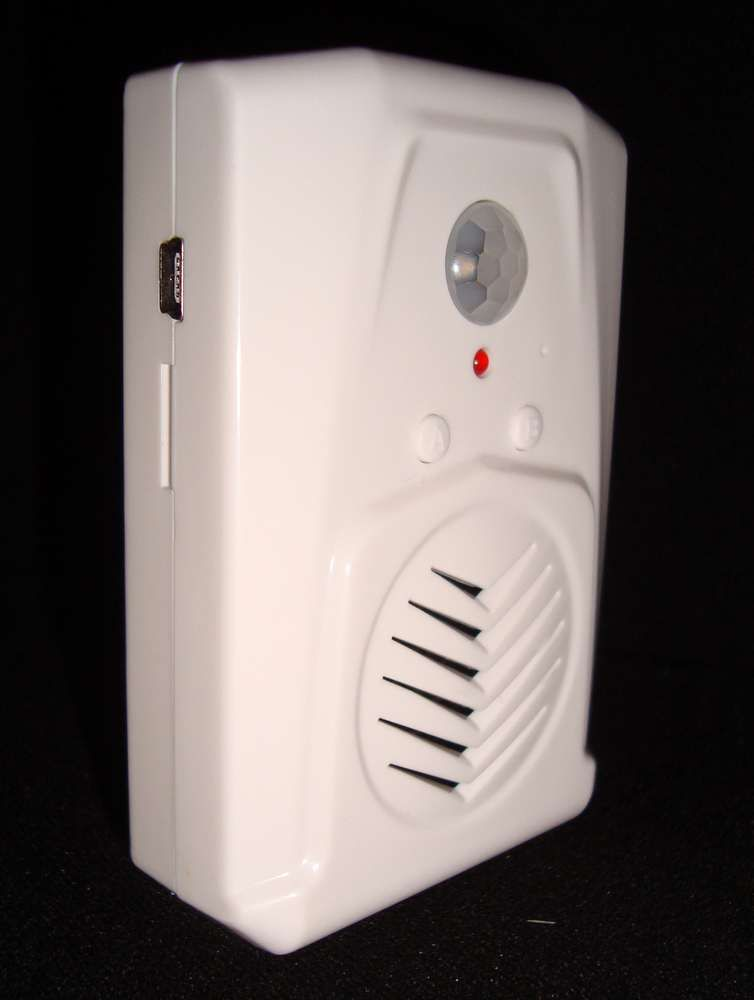 mini recordable infrared motion sensor scream speaker perfect for halloween prop sound effects