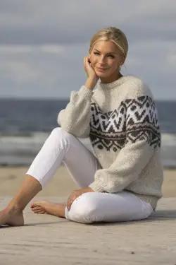 kathrine sørland genser strikkemekka