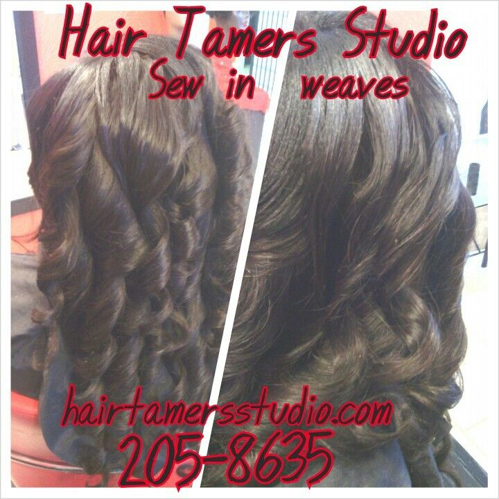 Weaves Sew In Candy Curls Wand Curls Denman Brush Shop