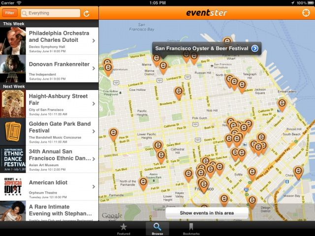Eventster Brings Crowdsourced Event Discovery To iPhone