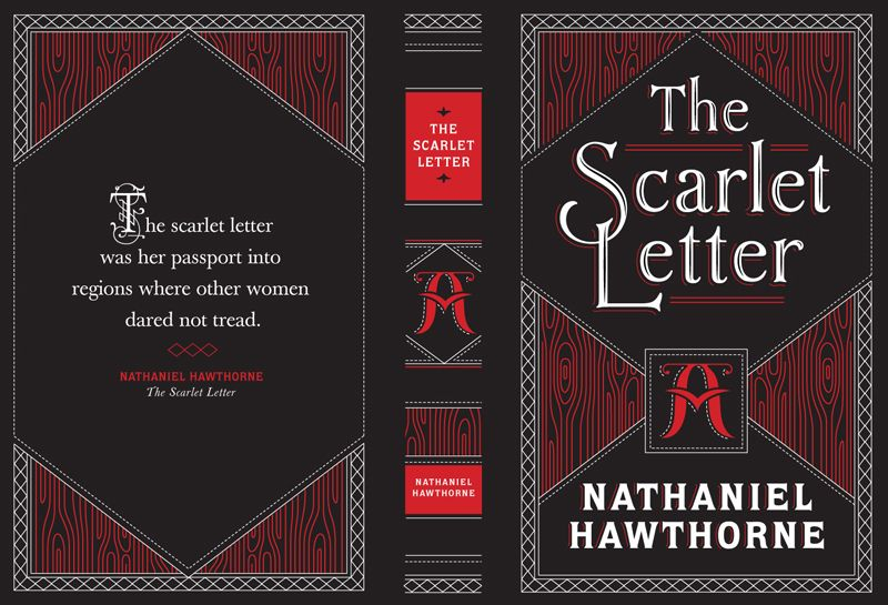 Pretty Peculiarities Jessica Hische Is A Genius Pt 1 The Scarlet Letter Book