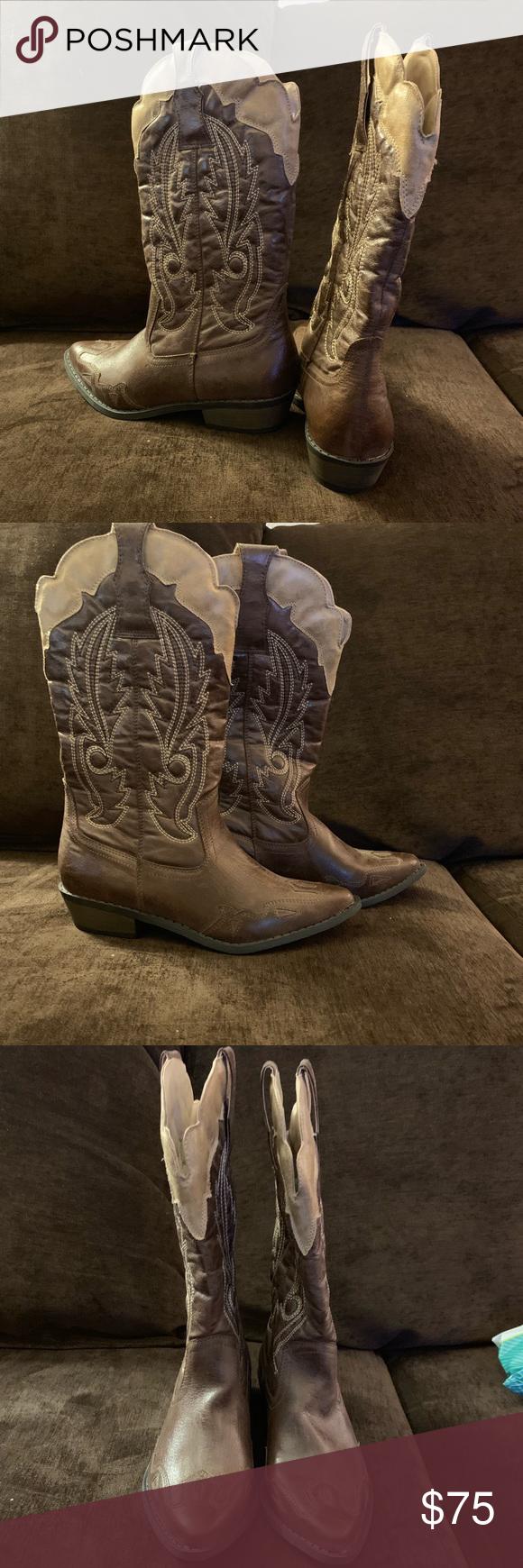 53d1f47ce7fb Coconut Bandera cowboy boots size 6 Coconut Cowboy Boots size 6. Never  worn. Coconuts by Matisse Shoes