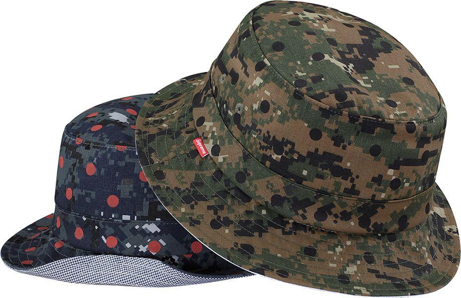 bcea5673047 supreme x cdg - bucket hat