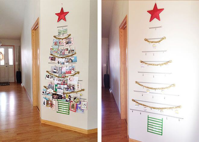 18 Ways To Display Christmas Cards In 2020 Shutterfly Christmas Card Display Diy Christmas Cards Christmas Diy